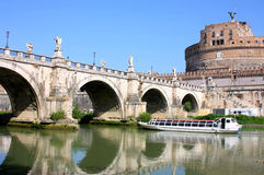 Castel Sant' Angelo in Rome, Italy Royalty Free Stock Images