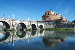 Castel Sant`Angelo, Rome - Italy Stock Photo