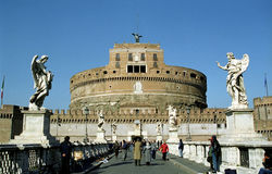 Castel Sant'Angelo, Rome, Italy Stock Images