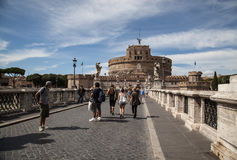 Castel Sant Angelo in Rome Royalty Free Stock Photography
