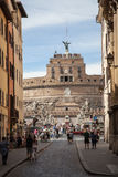 Castel Sant Angelo in Rome Royalty Free Stock Photo