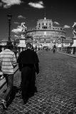 Castel Sant`Angelo. In Rome, Italy Royalty Free Stock Images