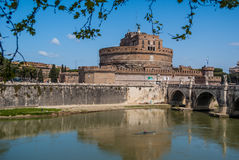 Castel Sant`Angelo. In Rome, Italy Royalty Free Stock Image