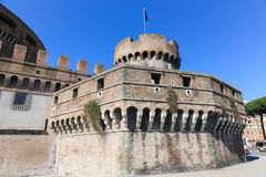 Castel Sant'Angelo in Rome,Italy Stock Image