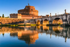 Castel Sant Angelo, Rome, Italy Royalty Free Stock Photos