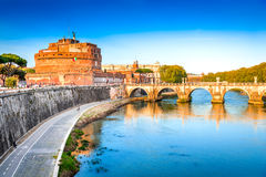 Castel Sant Angelo, Rome, Italy Stock Photos