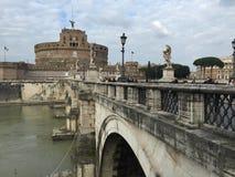 Castel Sant Angelo in Rome, Italy Royalty Free Stock Photos