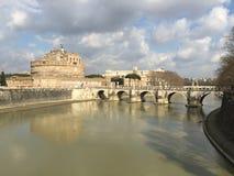 Castel Sant Angelo in Rome, Italy Stock Photo
