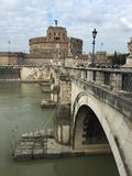 Castel Sant Angelo in Rome, Italy Stock Image