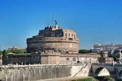 Castel Sant Angelo in Rome, Italy Stock Images