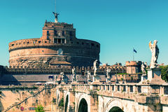 Castel Sant`Angelo in Rome, Italy Royalty Free Stock Photography