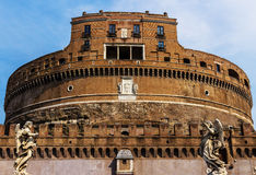 Castel Sant`Angelo in Rome, Italy royalty free stock photo