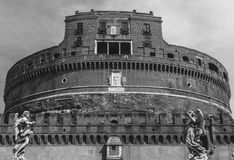 Castel Sant`Angelo in Rome, Italy. The Castel Sant`Angelo in Rome, Italy - circa 2016 Stock Photography