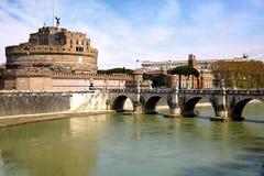 Castel Sant' Angelo in Rome, Italy Royalty Free Stock Photos
