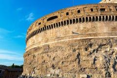 Castel Sant`Angelo in Rome, Italy Stock Photos