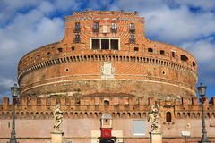 Castel Sant`Angelo, Rome, Italy Stock Images