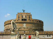 Castel Sant Angelo in Rome Stock Photo