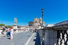 Castel Sant'Angelo, Rome, Italy. Stock Photography