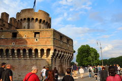 Castel Sant Angelo Rome Italy Royalty Free Stock Image