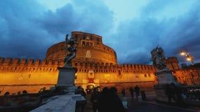 Castel Sant'Angelo stock video footage