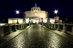 Castel Sant' Angelo - Rome, Italy Royalty Free Stock Photography