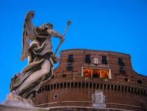 Castel Sant'Angelo in Rome, Italy Stock Photos
