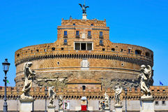 Castel Sant Angelo in Rome, Italy Royalty Free Stock Photography
