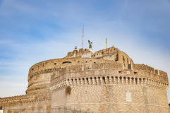 Castel Sant Angelo of Rome Royalty Free Stock Images
