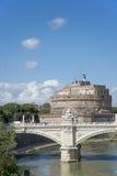 Castel Sant Angelo Rzym Zdjęcia Stock