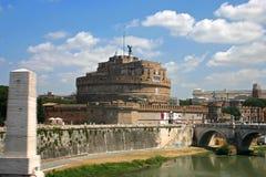 Castel Sant Angelo Rzym Obrazy Stock