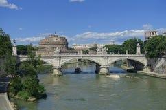 Castel Sant Angelo Rzym fotografia stock