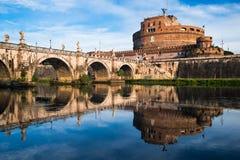 Castel Sant Angelo, Rzym, Włochy Zdjęcie Stock