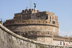 Castel Sant'Angelo (Santangelo)罗马-意大利 库存图片
