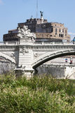 Castel Sant'Angelo (Santangelo) Rome - Italy Royalty Free Stock Photo