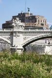 Castel Sant'Angelo - (Santangelo Rzym, Włochy) Zdjęcie Royalty Free