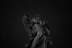 Castel SantAngelo statue Angel royalty free stock photography