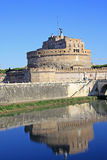 Castel Sant Angelo and Tiber River. Rome, Italy. Stock Photography