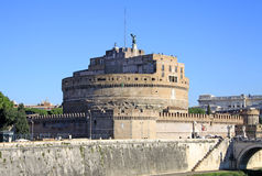 Castel Sant Angelo and Tiber River. Rome, Italy Stock Photo