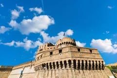 Castel Sant`Angelo under a cloudy sky Stock Photography