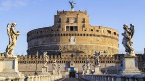Castel Sant'angelo w Rzym, Włochy zdjęcia stock