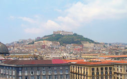 Castel Sant`Elmo in Naples. royalty free stock photo