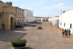 Castel Sant Elmo in Naples in Italy Royalty Free Stock Photos