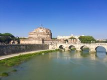 Castel Sant & x27; Angelo & x28; Mausoleo di Hadrian& x29; , Roma Immagine Stock Libera da Diritti
