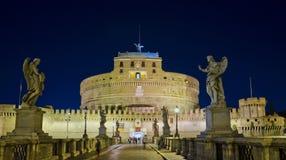 Castel Santangelo,罗马 免版税库存照片