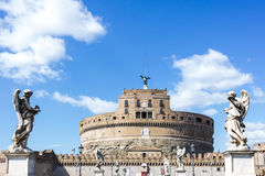 Castel SantAngelo Στοκ Εικόνες
