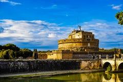 Castel SantAngelo arkivbild