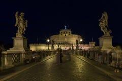Castel Santangelo a Roma Immagine Stock Libera da Diritti