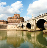 Castel Santangelo in Rome Royalty Free Stock Photo