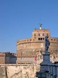 Castel SantAngelo in Rome Italië Stock Afbeeldingen