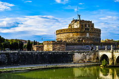 Castel Santangelo Stock Photo